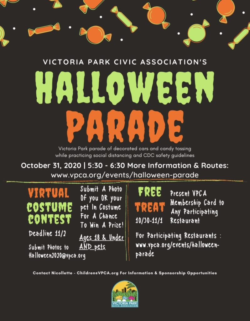 Halloween 2020 Vivky Halloween Parade – Official Home of the VPCA